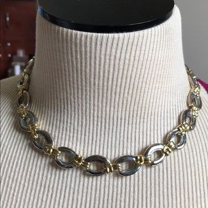 3/$12 Vintage silver and gold necklace